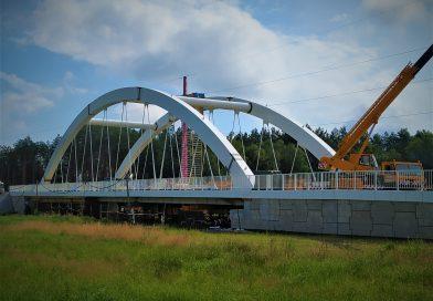 Most na Orzycu, droga i połączanie transeuropejskiej sieci transportowej