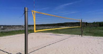 Boisko do siatkówki plażowej w Bogatem